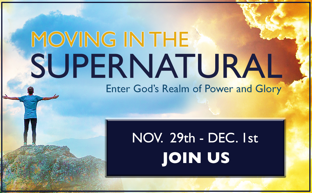 Moving in the Supernatural